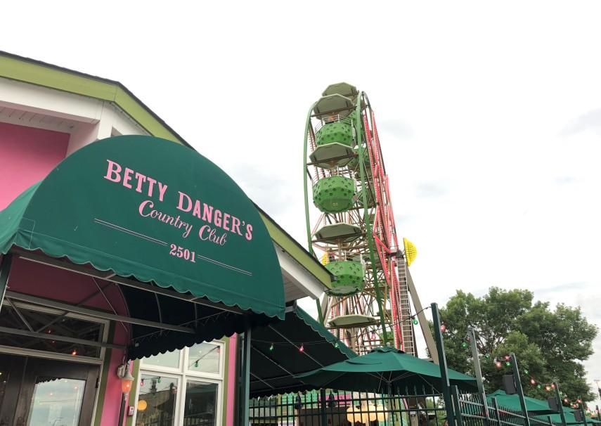 danger front