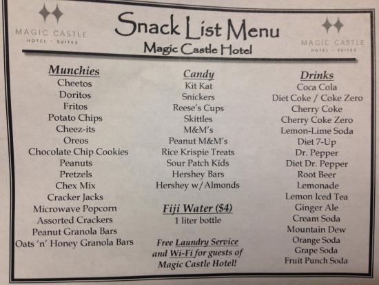 magic menu